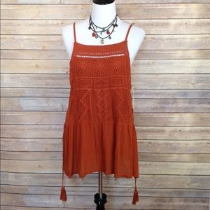 Mossimo loose fitting tank style blouse